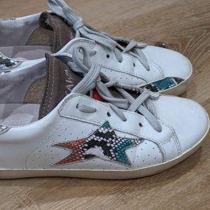 Ishikawa shoes, star, red bottoms, size 39